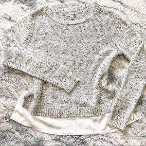 Croft&Barrow Layered Sweater Tunic size XL
